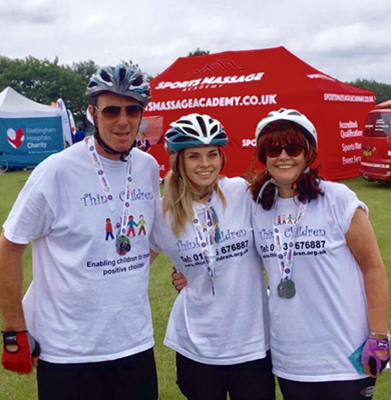 Cycling Event A Huge Success