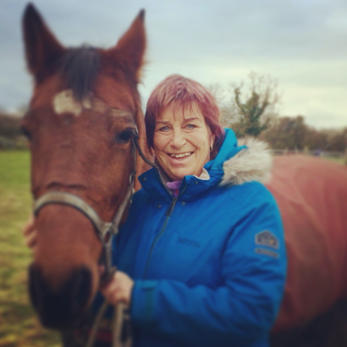 Jenny Gadsby and her horse Mable